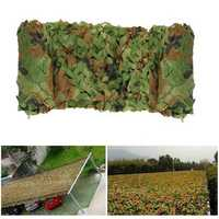 4mx3m Camo Camouflage Net For Car Cover Camping Woodlands Military Hunting Shooting Hide