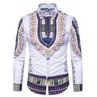 Meilleurs prix National Pattern Printing Button up Men Chic Designer Shirts