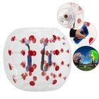 Meilleurs prix Outdoor Air Bubble Ball 0.8mm PVC 100cm Air Bumper Ball Soccer Body Zorb Ball Swimming Pool Game