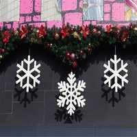 10pcs Christmas Xmas Wall Hanging Decoration Snowman Santa Clau Snowman Christmas Party Decoration
