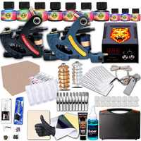 Tattoo Machine Kit 2 Top Tattoo Machine Body Art Tools