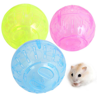 Plastic Pet Rodent Mice Jogging Ball Toy Hamster Gerbil Rat Exercise Balls Play Pet Toys