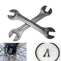 Bike Bicycle Axle Hub Cone Wrench Spanner Head Open End Repair Tool 13/14 15/16 mm