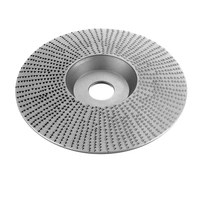 Drillpro 110mm Extreme Shaping Disc 16mm Bore Tungsten Carbide Wood Carving Disc Grinder Disc for 100 115 Angle Grinder Woodworking