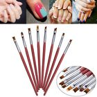 Prix de gros 8pcs 3D French Nail Art DIY Painting Drawing Brush Set Acrylic UV Gel Polish Design Manicure Pen