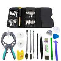 38 in 1 Screen Opening Repairtools Screwdriver Plier Pry Disassemble Tools set Kit for Iphone Samsung