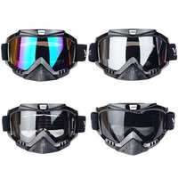 Motocross Outdoor Sporting Sun Protection Skiing Motorcycle Helmet Goggles Dust-proof