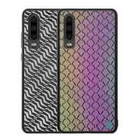 NILLKIN Woven Polyester Mesh Reflective Anti-fingerprint Protective Case for HUAWEI P30
