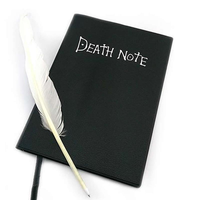 Death Note book Lovely Fashion Anime Theme Death Note Cosplay Notebook School Large Writing Journal