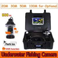 CR110-7B Waterproof Under Water Video Camera System with Light Fishing Monitoring 700TVL Built in DVR