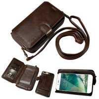 Floveme Detachable Zipper Wallet Case For iPhone 7 Plus/8 Plus