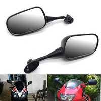 18mm Motorcycle Rearview Mirrors Back Side Mirrors For HONDA CBR600 CBR600RR CBR1000 CBR1000RR