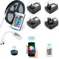 5M SMD2835 Alexa Smart Home WIFI Controller APP Control Non-waterproof RGB LED Strip Light DC12V