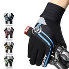 Meilleurs prix Men Full Finger Gloves Bike Cycling Gloves Outdoor Sports Thick Pad Protect Mittens