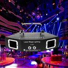 Promotion DMX 4 Len RGB Pattern Beam Network Laser Light Home Party DJ KTV Stage Lighting