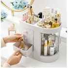 Acheter Transparent Acrylic Cosmetics Storage Box Protable Desktop Organizer Drawer Storage Bins Bathroom Waterproof Makeup Organizer