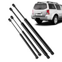 4Pcs Car Rear Window Tailgate Gas Strut Support Tail Lift Bar for Nissan Pathfinder R51 2005-2012