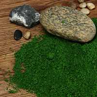 DIY Handmade Building Model Material Grass Tree Sponge Powder Green Pollen