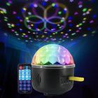 Discount pas cher Remote Control Crystal Magic Ball 6 LED Stage Light Party Disco DJ Club KTV