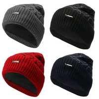 Fashion Men Camping Hat Winter Beanie Baggy Warm Wool Fleece Ski Cap