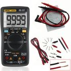 Meilleurs prix ANENG AN8009 True RMS NCV Digital Multimeter 9999 Counts Backlight AC DC Current Voltage Resistance Frequency Capacitance Temperature Tester ℃/℉ Black
