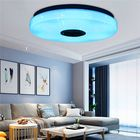 Meilleurs prix 80W Modern Dimmable LED RGB Bluetooth Music Ceiling Light APP Remote Control