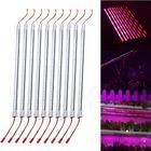 Acheter au meilleur prix 10PCS 50CM SMD5730 Red:Blue 5:1 LED Plant Grow Rigid Strip Hydroponic Bar Light Kit DC12V