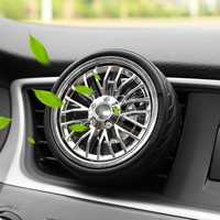 Mini Wheel Tire Car Air Vent Mount Perfume Clip Air Freshener Fragrance Scent Decoration for Truck
