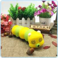 Cute Cartoon SquishsThe caterpillar Colorful Caterpillar Gift for Kids Children