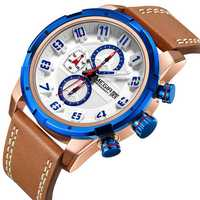 MEGIR 2082 Waterproof Sport Calendar Men Wrist Watch