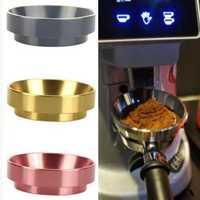 Coffee Machine Coffee Dosing Ring Aluminum Cloth Powder Powder Feeder Anti-Flying Powder Quantitative Ring 58Mm Universal