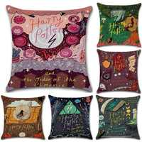 Honana PL-317 New Model Style Classic Magical Themed Pillowcase Cotton And Linen Cushion Cover