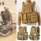 Promotion Coumouflage Military Tactical Vest Molle Combat Assault Protective Clothes CS Shooting Hunting Vest