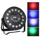 Les plus populaires 30W RGB Stage Light 15 LED Par Lamp Remote Sound Control for Club DJ Party Disco Wedding Christmas AC90-240V
