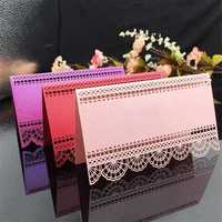 24Pcs Laser Cut Place Cards Wedding Name Cards For Wedding Party Table Decoration wedding decoration