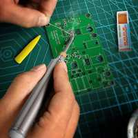 5V 8W Solder Iron Wireless Charging Soldering Iron Mini Portable Rechargeable Battery Soldering Iron with USB Welding Tools