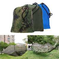 Outdoor Jungle Camping Mosquito Net Hammock Hanging Swing Bed Nylon Sleeping Bed Hiking Travel