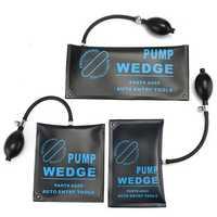 3pcs Car Pump Air Wedge Alignment Inflatable Shim Pad Powerful Opener Tool