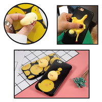 Bakeey™ Cartoon 3D Squishy Squeeze Lay Egg Yellow Chicken Soft TPU Case for iPhone 6 6s&6Plus 6sPlus