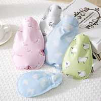 Cute Cartoon Animal Cloth Hot Water Bag Warm Hand Bag Water Injection Hot Water Bottle Therapy Winte