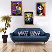 Full Drill Halloween Skull DIY 5D Diamond Painting Cross Stitch Kits Home Decor