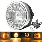 Acheter au meilleur prix 8 Inch Motorcycle Headlight With LED Turn Signal Indicators Bracket