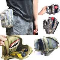Molle PALS Waist Pack Belt Waist Bag Fishing Tools Waist Bag Pack