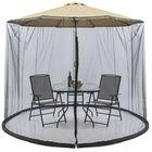 Meilleurs prix 300x230cm Sunshade Mosquito Net Courtyard Net Cover Umbrella Mosquito Net