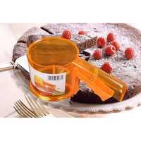 Cup Shape Flour Sieve Mesh Flour Sifter Mechanical Baking Icing Sugar Shaker Sieve Tool