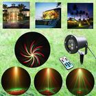 Bon prix Remote R&G Laser Projector Stage Light Waterproof Decorative Lamp For Outdoor Lawn