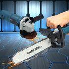 Meilleurs prix 11000r/min 220V 1000W Electric Angle Grinder Chainsaw Bracket DIY Cutting Tools
