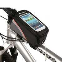 ROSWHEEL 4.8'' 5.5'' Bicycle Touchscreen Phone Bag Frame Tube Bag