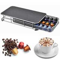 Coffee Capsules Pod Holder Stand Dispenser Anti Slip Rack Capsule For NESPRESSO