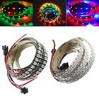 Meilleurs prix 1M WS2812B 5050 RGB Changeable LED Strip Light 144 Leds Non-waterproof Individual Addressable 5V